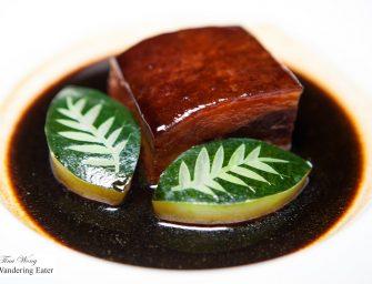 Dinner at Tin Lung Heen 天龍軒 at Ritz Carlton Hong Kong (2* Michelin)