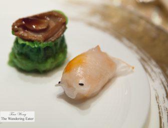 Excellent Dim Sum at 8 Restaurant at Grand Lisboa Hotel  新葡京酒店賭場 (Macau)