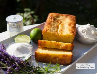 Pistachio Oil, Yogurt Lemon Cake