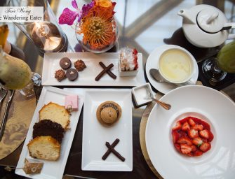 Afternoon Tea at Hotel Metropole (Monte Carlo)