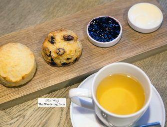 Great Tea & Scones at Smith&Hsu (Taipei, Taiwan)