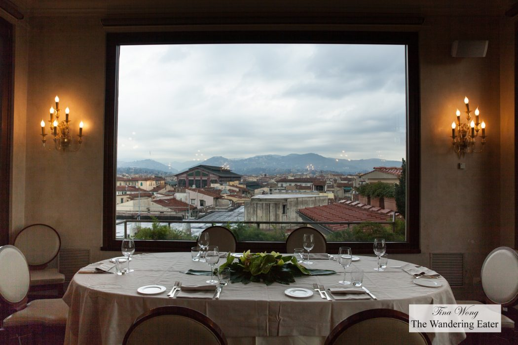 Lunch With A Spectacular View Of Florence At B Roof At Grand Hotel
