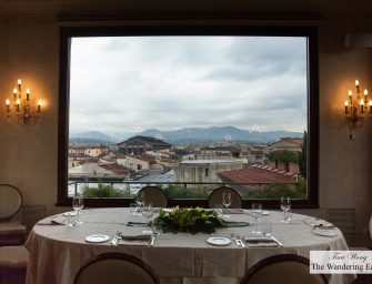 Lunch with a Spectacular View of Florence at B-Roof at Grand Hotel Baglioni Firenze (Florence, Italy)