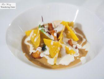 Dinner at Restaurant Assaje at Aldrovandi Villa Borghese Rome (1* Michelin)