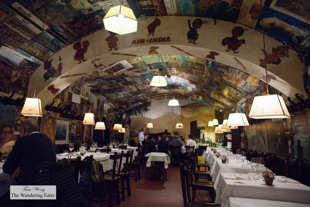 Excellent Florentine Steak Dinner At Buca Lapi Florence