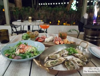 Dinner at Bird & Bone at The Confidante Miami Beach (Miami, FL)