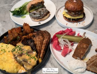Brunch at Sunday in Brooklyn (NYC)