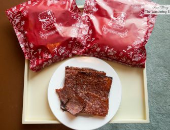 Excellent Bak Kwa at Lim Chee Guan (Singapore)