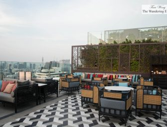 Praya Kitchen and Yao Rooftop Bar at Bangkok Marriott Hotel The Surawongse
