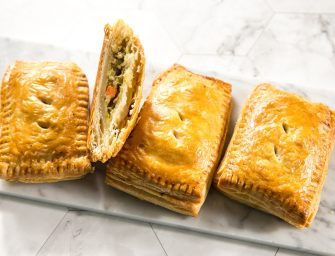 Thai Green Curry Puff Pastries