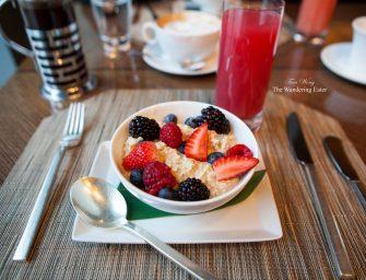 Breakfast at Asana in Mandarin Oriental Boston