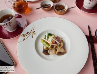 Fantastic Chef's Tasting Menu at Sense at Mandarin Oriental Tokyo (Tokyo, Japan)