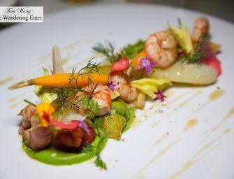 Very Good Seafood Dinner at Le Vistamar (1* Michelin; Monte Carlo, Monaco)