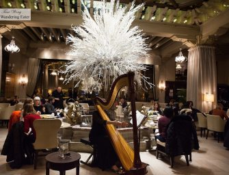 Afternoon Tea at Palm Court at The Drake Chicago