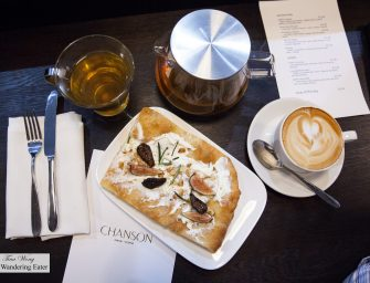 Lunch at Patisserie Chanson (NYC)