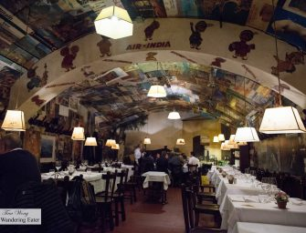 Excellent Florentine Steak Dinner at Buca Lapi (Florence, Italy)