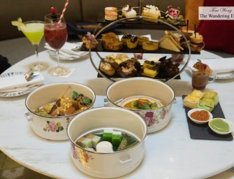 Afternoon Tea at Pan Pacific Singapore