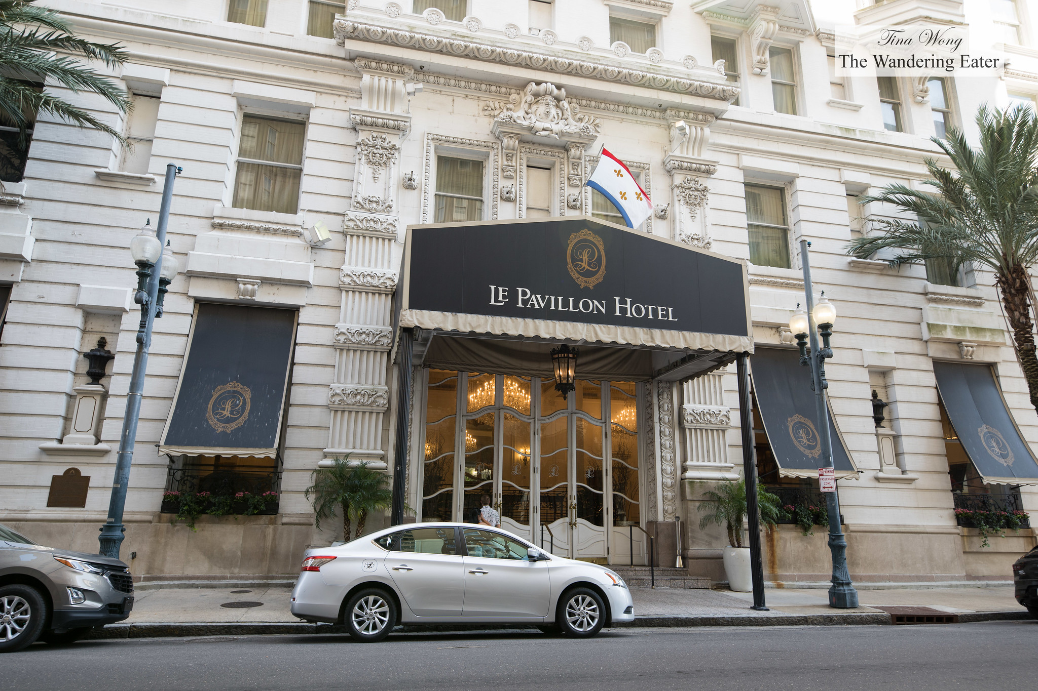 French Opulence At Le Pavillon Hotel New Orleans La The Wandering Eater