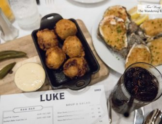 Dinner at Luke (New Orleans, LA)